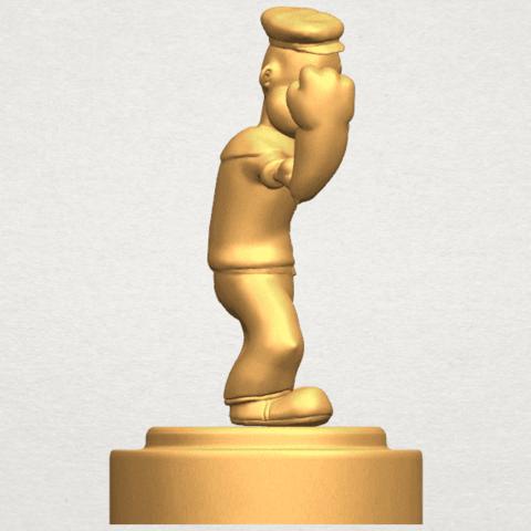 TDA0482 Popeye A06.png Download free STL file Popeye • 3D printer design, GeorgesNikkei