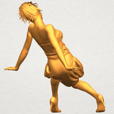 A07.png Télécharger fichier STL gratuit Fille nue G09 • Design pour impression 3D, GeorgesNikkei