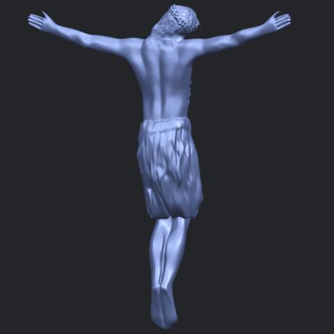 04_TDA0232_Jesus_iii_88mmB07.png Download free STL file Jesus 03 • 3D printable template, GeorgesNikkei