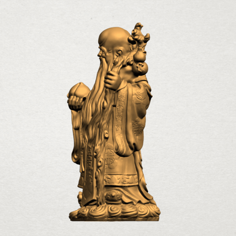 Sao (Fook Look Sao) 80mm - A02.png Download free STL file Sao (Fook Look Sao) • 3D printable model, GeorgesNikkei