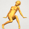 A01.png Download free STL file Naked Girl G01 • 3D printable template, GeorgesNikkei