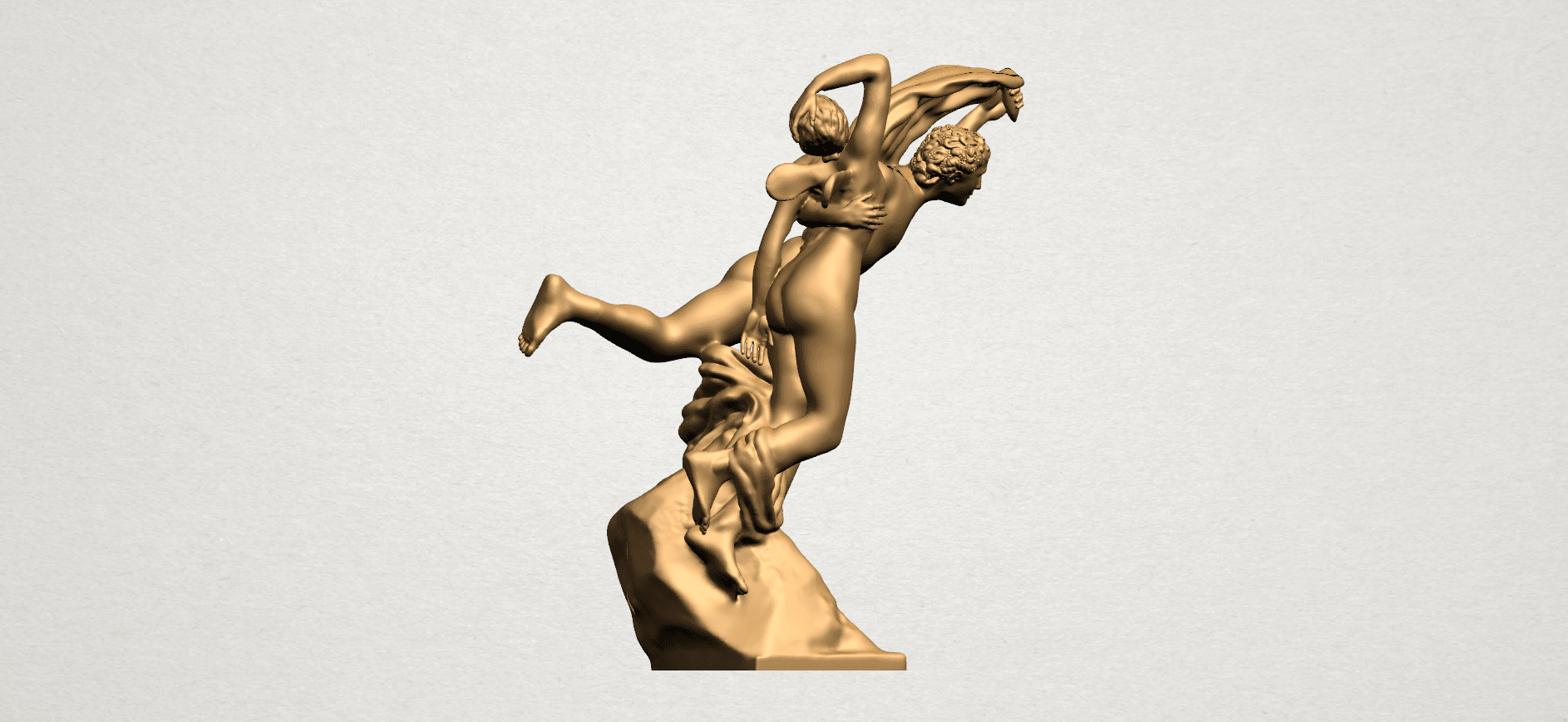 Cupid and Psyche - A06.png Download free STL file Cupid and Psyche • 3D printing template, GeorgesNikkei