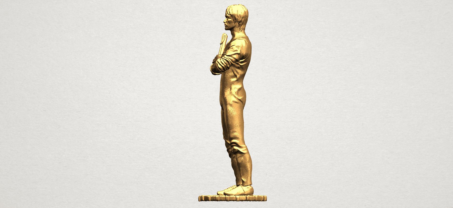 Bruce Lee A03.png Download free STL file Bruce Lee • 3D printing design, GeorgesNikkei