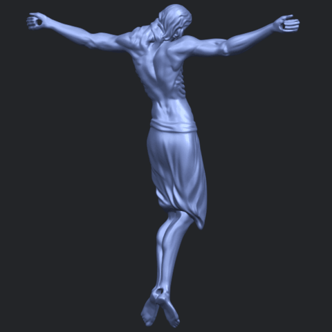 17_TDA0233_Jesus_iv_88mmB07.png Download free STL file Jesus 04 • Template to 3D print, GeorgesNikkei