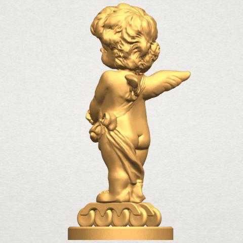 TDA0479 Angel Baby 02 A03.png Télécharger fichier STL gratuit Bébé Ange 02 • Plan pour imprimante 3D, GeorgesNikkei
