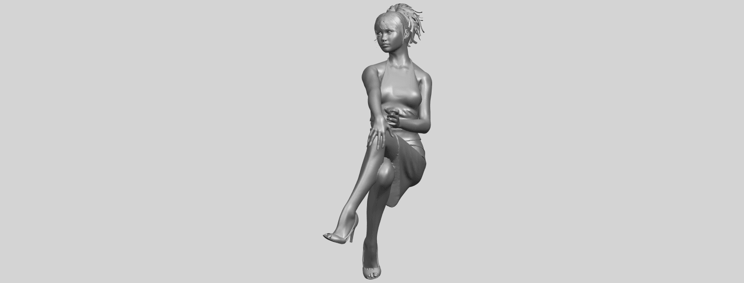 16_TDA0666_Naked_Girl_H04A05.png Download free STL file Naked Girl H04 • 3D printing object, GeorgesNikkei
