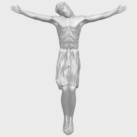 04_TDA0232_Jesus_iii_88mmA01.png Download free STL file Jesus 03 • 3D printable template, GeorgesNikkei