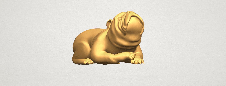 TDA0574 Bull Dog 07 A08.png Télécharger fichier STL gratuit Chien de taureau 07 • Objet imprimable en 3D, GeorgesNikkei