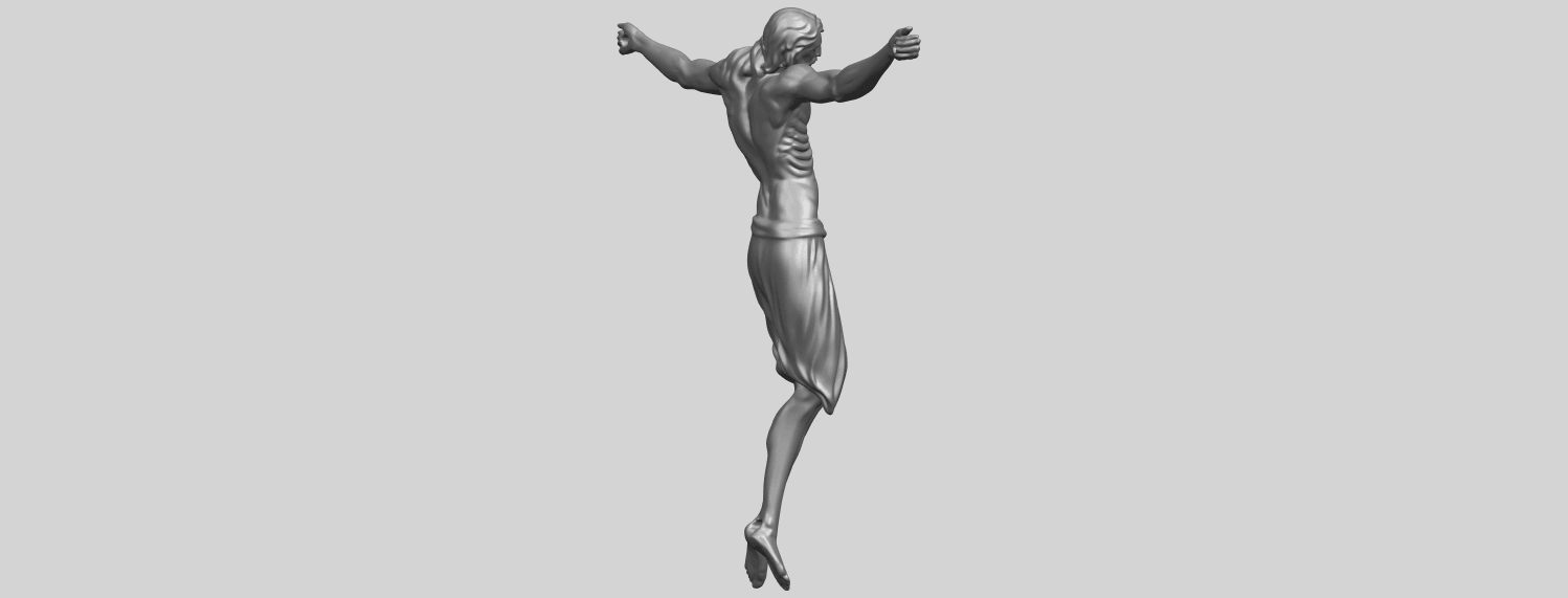 17_TDA0233_Jesus_iv_88mmA08.png Download free STL file Jesus 04 • Template to 3D print, GeorgesNikkei