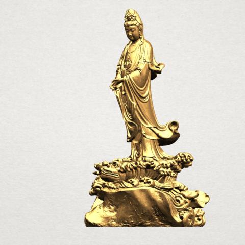 Avalokitesvara Buddha - Standing (ii) A02.png Download free STL file Avalokitesvara Bodhisattva - Standing 02 • Design to 3D print, GeorgesNikkei