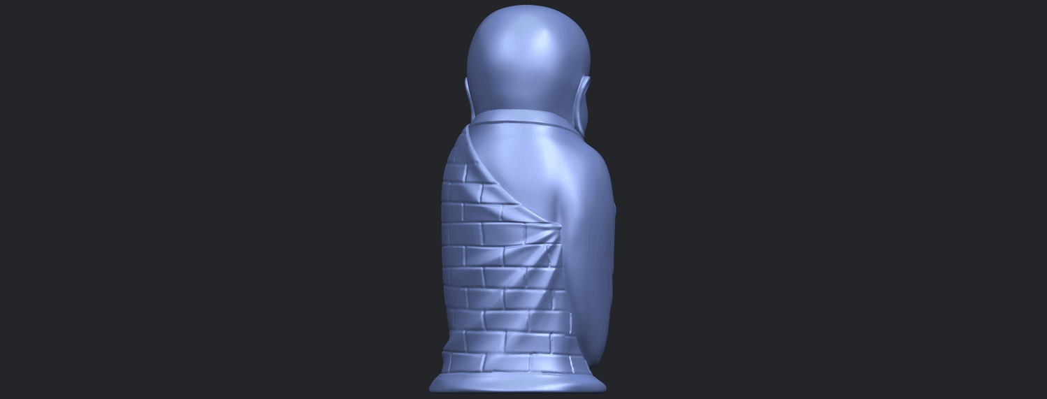 Little_Monk_80mmB07.png Download free STL file Little Monk 01 • 3D printable design, GeorgesNikkei