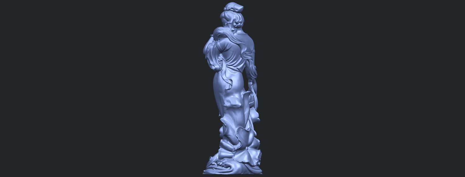 06_TDA0449_Fairy_04B05.png Download free STL file Fairy 04 • Object to 3D print, GeorgesNikkei