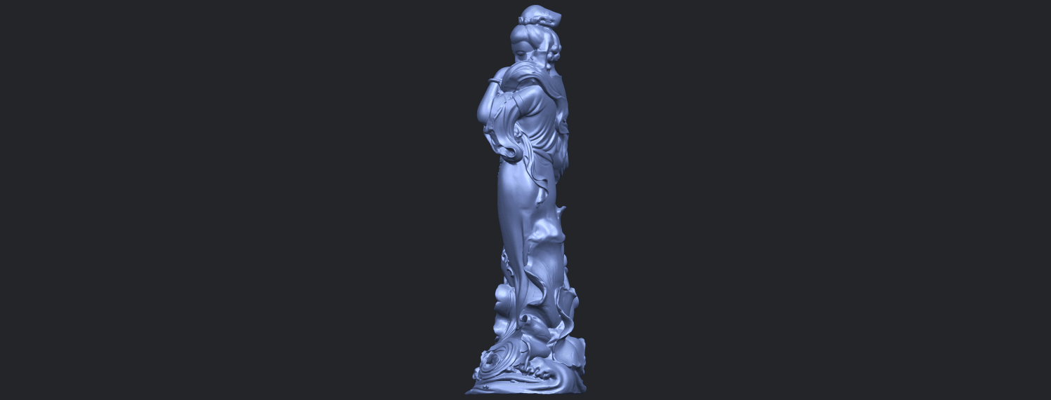 06_TDA0449_Fairy_04B04.png Download free STL file Fairy 04 • Object to 3D print, GeorgesNikkei