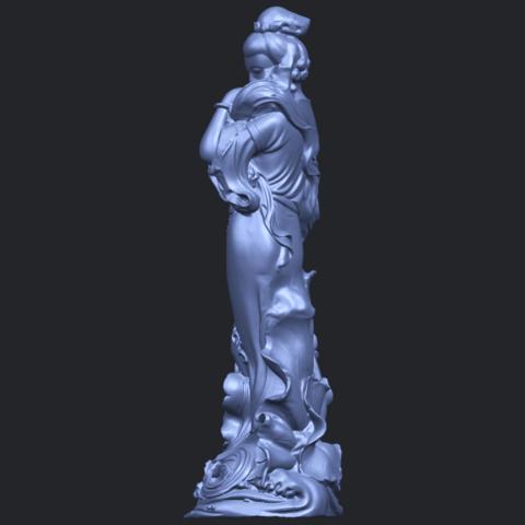 06_TDA0449_Fairy_04B04.png Télécharger fichier STL gratuit Fée 04 • Plan à imprimer en 3D, GeorgesNikkei