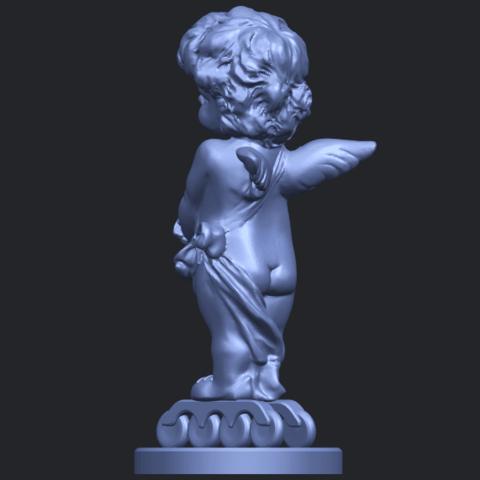 16_TDA0479_Angel_Baby_02B05.png Télécharger fichier STL gratuit Bébé Ange 02 • Plan pour imprimante 3D, GeorgesNikkei