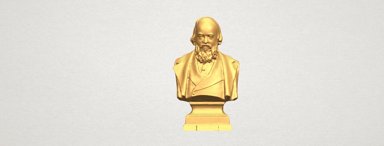 TDA0621 Sculpture of a head of man 03 A01.png Télécharger fichier STL gratuit Sculpture d'une tête d'homme 03 • Plan pour impression 3D, GeorgesNikkei