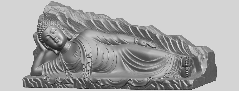 05_TDA0295_Sleeping_Buddha_iiiA02.png Télécharger fichier STL gratuit Bouddha Dormant 03 • Objet à imprimer en 3D, GeorgesNikkei
