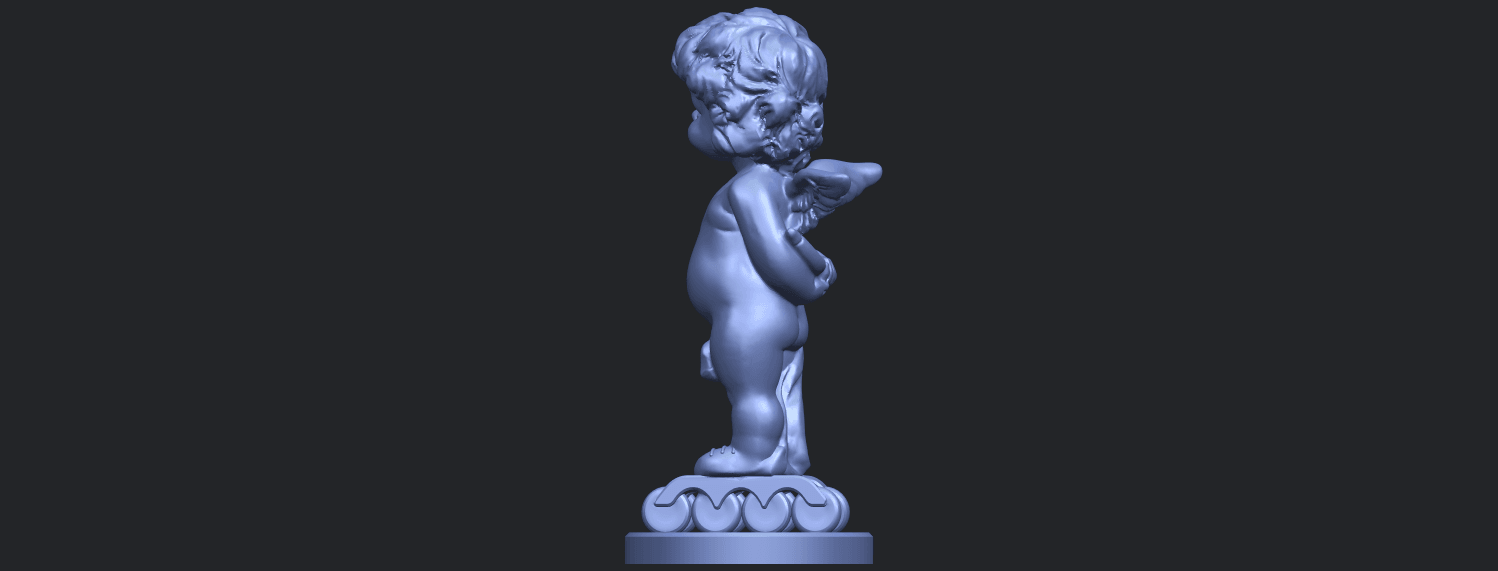 15_TDA0478_Angel_Baby_01B04.png Download free STL file Angel Baby 01 • 3D print template, GeorgesNikkei