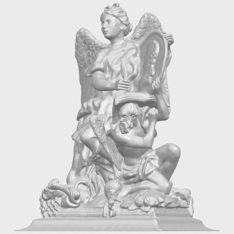 17_TDA0206_Angel_viA02.png Télécharger fichier STL gratuit Ange 06 • Modèle pour imprimante 3D, GeorgesNikkei