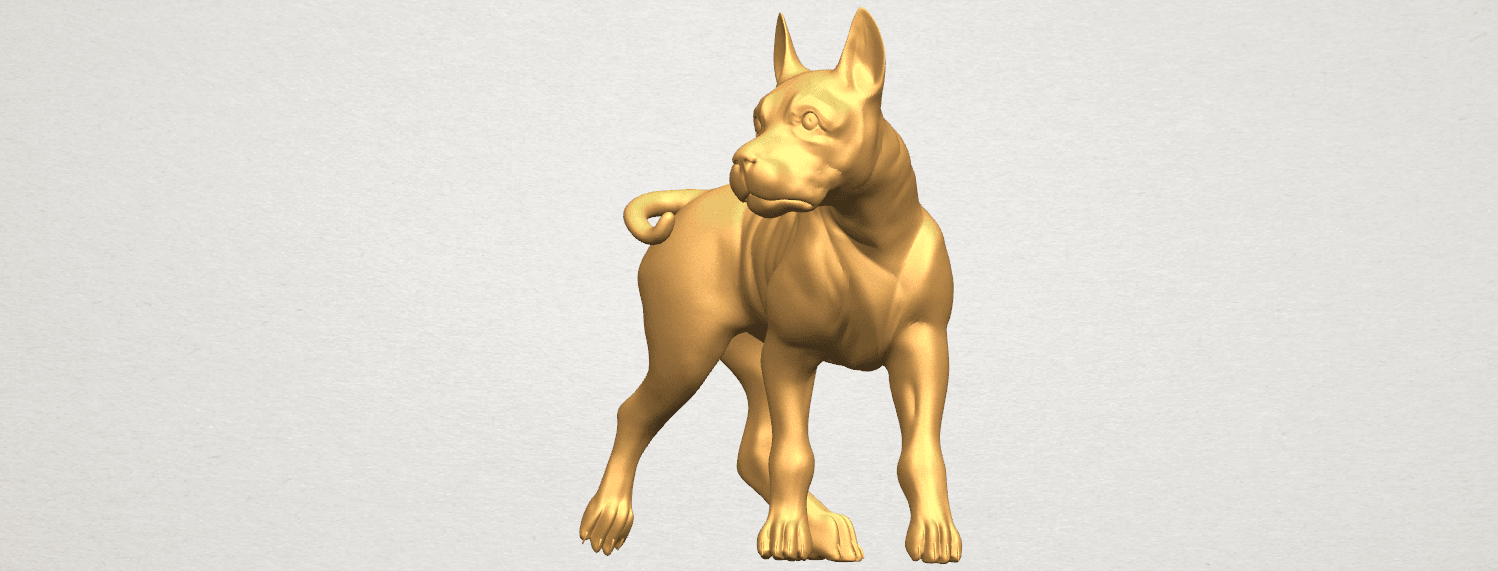 TDA0523 Bull Dog 04 A02.png Download free STL file Bull Dog 04 • 3D print design, GeorgesNikkei
