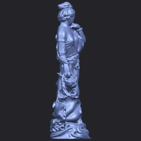 06_TDA0449_Fairy_04B09.png Download free STL file Fairy 04 • Object to 3D print, GeorgesNikkei