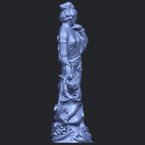 06_TDA0449_Fairy_04B09.png Télécharger fichier STL gratuit Fée 04 • Plan à imprimer en 3D, GeorgesNikkei