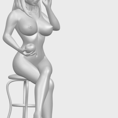 TDA0717_Naked_Girl_30-sittingA10.png Download free STL file Naked Girl 30 - sitting • 3D printable model, GeorgesNikkei