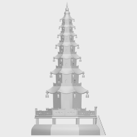 03_TDA0623_Chiness_pagodaA09.png Download free STL file Chiness pagoda • Design to 3D print, GeorgesNikkei
