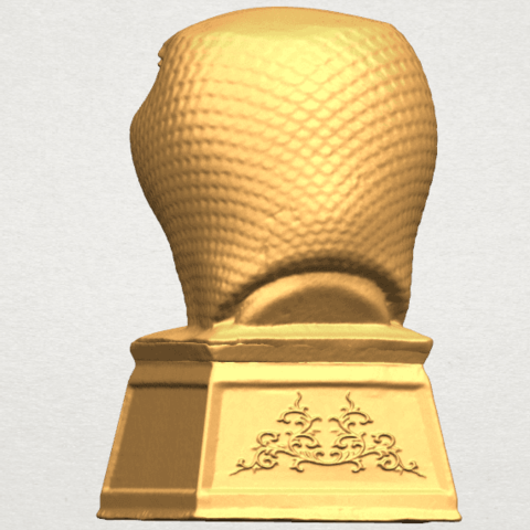 TDA0513 Chinese Horoscope of Snake A05.png Download free STL file Chinese Horoscope of Snake 02 • 3D printer design, GeorgesNikkei