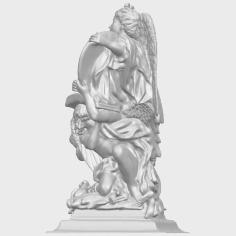 17_TDA0206_Angel_viA04.png Télécharger fichier STL gratuit Ange 06 • Modèle pour imprimante 3D, GeorgesNikkei