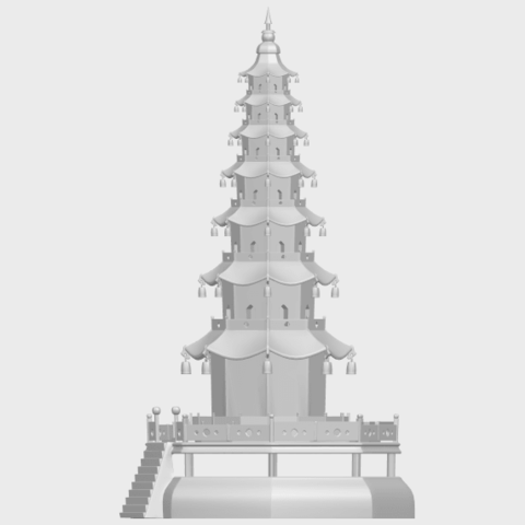 03_TDA0623_Chiness_pagodaA03.png Download free STL file Chiness pagoda • Design to 3D print, GeorgesNikkei