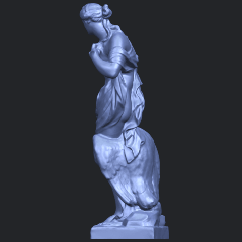 25_TDA0173_Naked_Girl_with_Goose_88mmB04.png Download free STL file Naked Girl with Goose • 3D print template, GeorgesNikkei