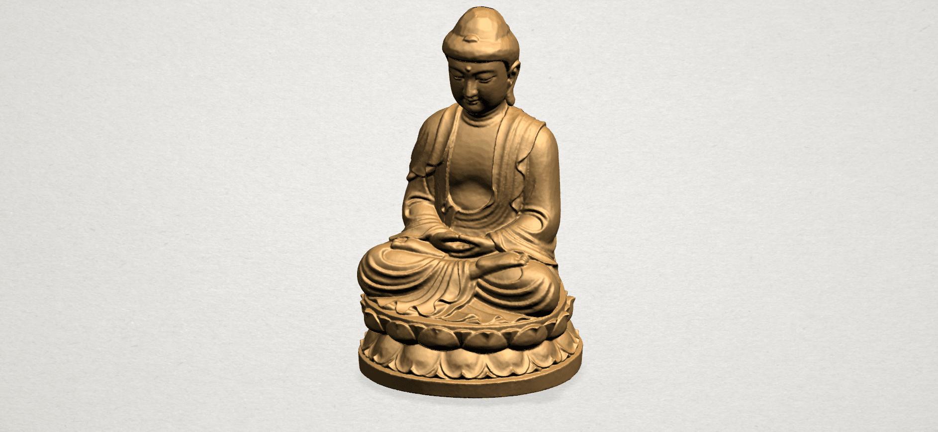 Gautama Buddha young - B02.png Télécharger fichier STL gratuit Gautama Bouddha Bouddha • Objet imprimable en 3D, GeorgesNikkei