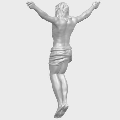 21_TDA0230_Jesus_iA05.png Download free STL file Jesus 01 - top • Object to 3D print, GeorgesNikkei