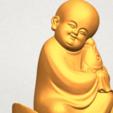 A11.png Télécharger fichier STL gratuit Petit Moine 04 • Modèle imprimable en 3D, GeorgesNikkei