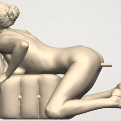 Free 3D model  Naked Girl B05, GeorgesNikkei