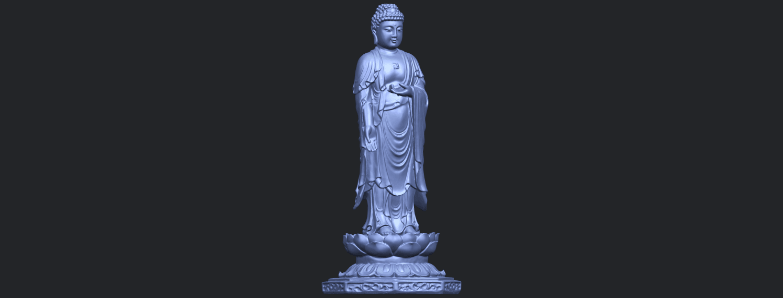 10_TDA0176_Gautama_Buddha_Standing_iiiB03.png Download free STL file Gautama Buddha Standing 03 • 3D printing design, GeorgesNikkei