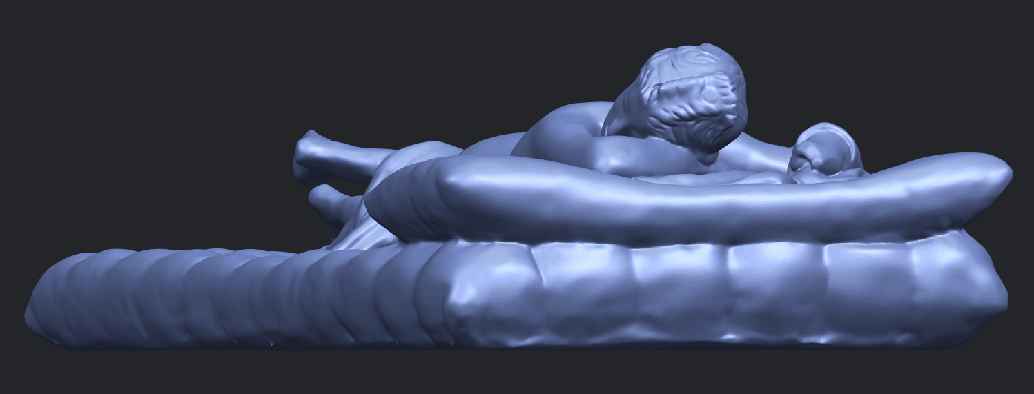 01_Naked_Body_Lying_on_Bed_ii_31mmB03.png Download free STL file Naked Girl - Lying on Bed 02 • Object to 3D print, GeorgesNikkei