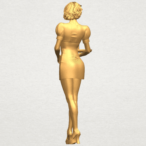TDA0475 Beautiful Girl 09 Waitress A04.png Download free STL file Beautiful Girl 09 Waitress • 3D printable object, GeorgesNikkei