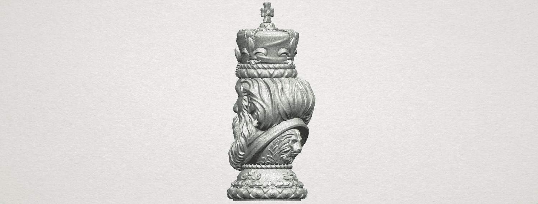 TDA0254 Chess-The King A05.png Télécharger fichier STL gratuit Chess-Le roi des échecs • Objet pour impression 3D, GeorgesNikkei