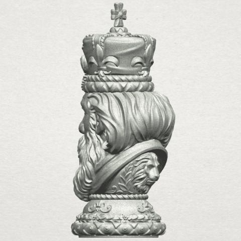 TDA0254 Chess-The King A05.png Download free STL file Chess-The King • 3D printer model, GeorgesNikkei