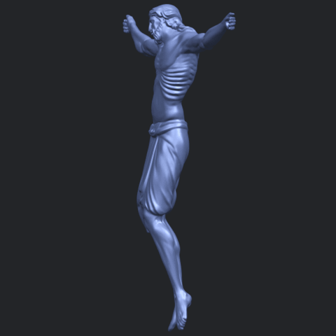 17_TDA0233_Jesus_iv_88mmB03.png Download free STL file Jesus 04 • Template to 3D print, GeorgesNikkei