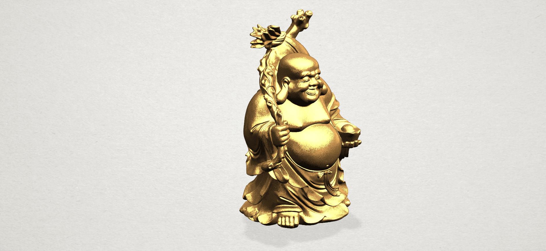 Metteyya Buddha 05 - 88mm - A09.png Télécharger fichier STL gratuit Bouddha Metteyya 05 • Objet imprimable en 3D, GeorgesNikkei
