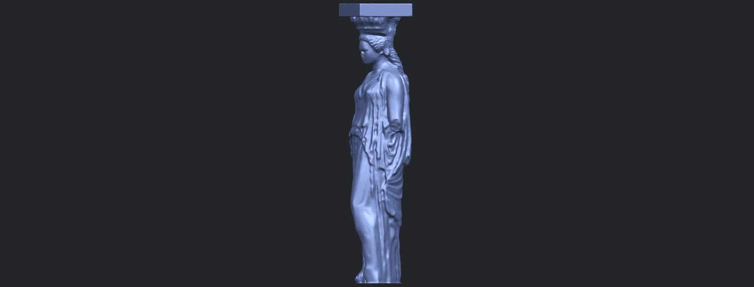 19_Pose_with_Girl_80mmB03.png Download free STL file Pose with Girl • 3D printable template, GeorgesNikkei