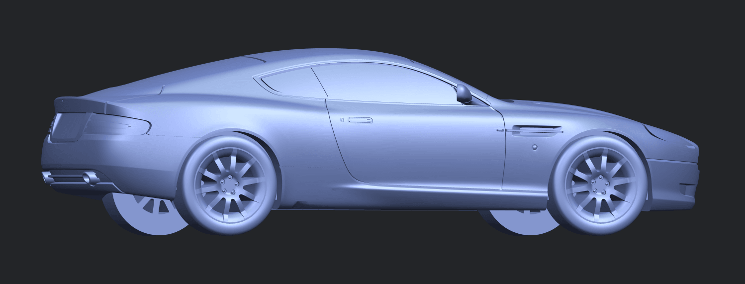 TDB006_1-50 ALLA06.png Download free STL file Aston Martin DB9 Coupe • 3D printer template, GeorgesNikkei