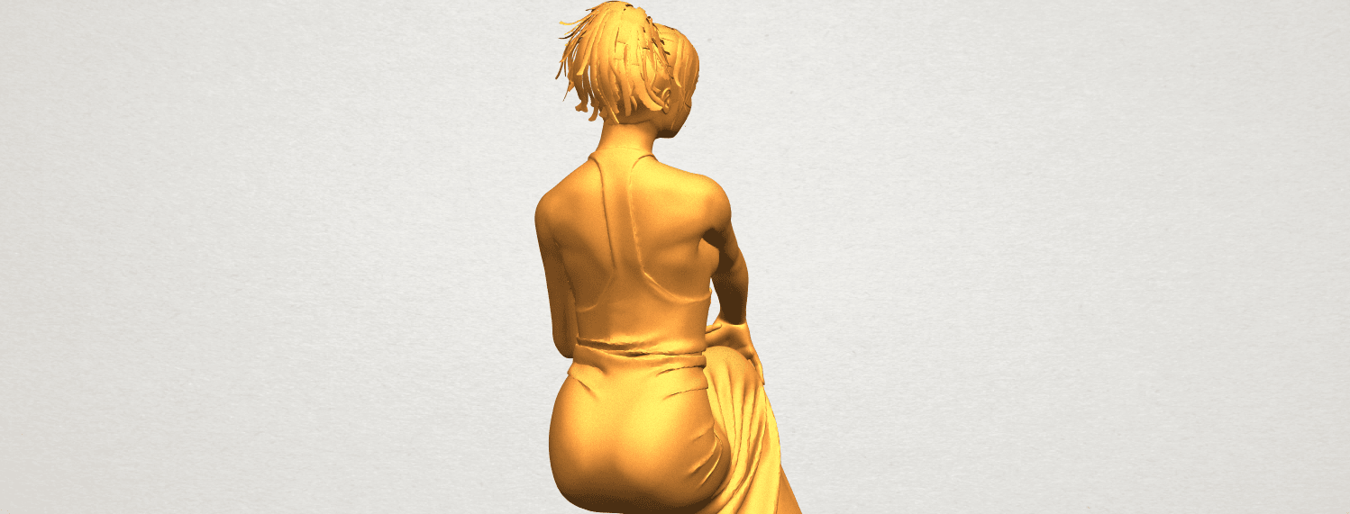 A11.png Download free STL file Naked Girl H09 • 3D printing model, GeorgesNikkei