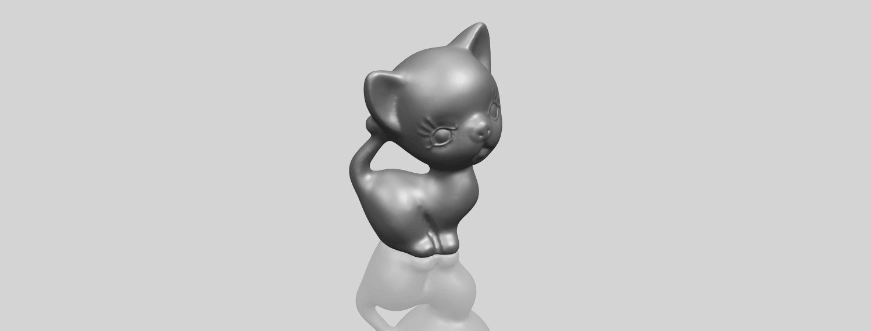 TDA0746_Cat_03A00-1.png Télécharger fichier STL gratuit Chat 03 • Modèle à imprimer en 3D, GeorgesNikkei