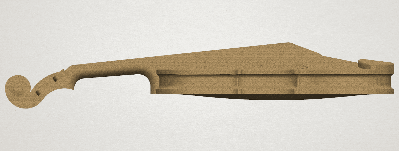 TDA0305 Violin A04.png Download free STL file Violin • 3D print design, GeorgesNikkei