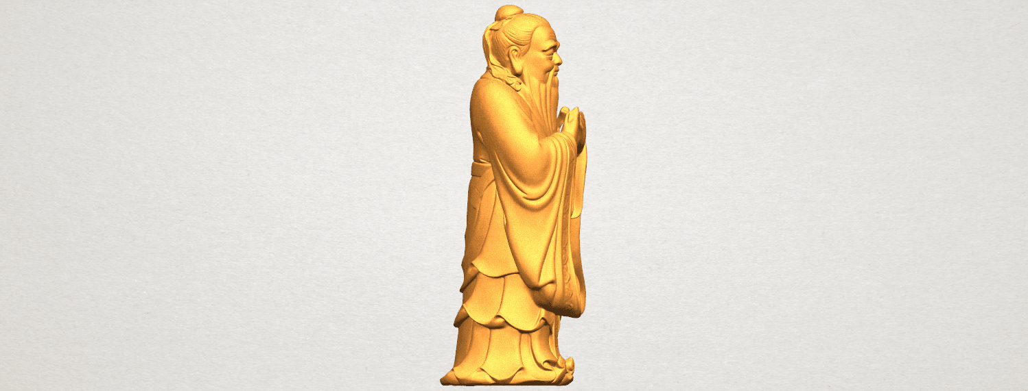 TDA0341 Confucius A06.png Download free STL file Confucius • 3D printable model, GeorgesNikkei
