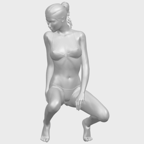 15_TDA0634_Naked_Girl_D04A02.png Download free STL file Naked Girl D04 • 3D printable template, GeorgesNikkei